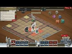 Card Hunter - Gameplay 1 - Card Hunter is a Browser-Based Free to play, multi platform, role-playing collectible Card MMO Game using Flash and featuring a single player campaign