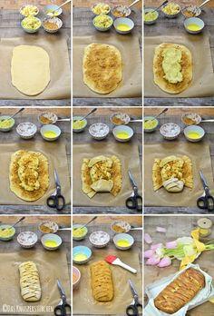 Karamellisiertes Apple Pie Stromboli | Das Knusperstübchen