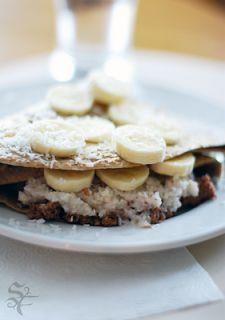 Raw Recipe: Chocolate Banana Crepes | Raw Spectacle