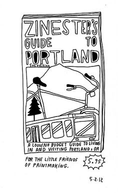 Portland Zinester's guide!