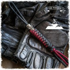 Tactical outdoor gear paracord knife lanyard / by TheWinnerStuff