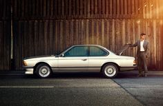 BMW M635 CSI on Behance
