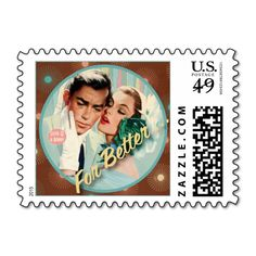 The Kitsch Bitsch : For Better ... Stamps