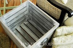 How to Build a Crate {{ A Tutorial }}...show this to hubby.  :)