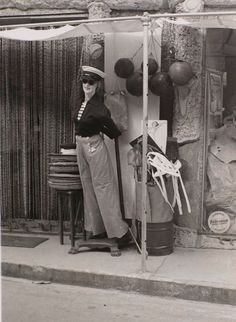 Rue de Ste Maxime, 1936 photo by Man Ray Man Ray, Ste Maxime, French Riviera, Art World, Photographers, Times, History, Portrait, Artist