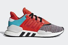 4e9b28c991a605 The adidas EQT Support 91 18 Gets a Multicoloured Knit