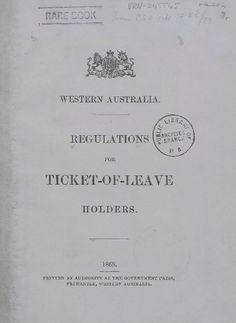 Army Veteran, Western Australia, Prison, Westerns, Wa Gov, History, Genealogy, Ticket, Police