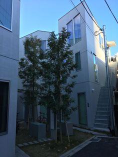 東新宿テラス 伊藤 | 都内へ散歩 : 体温を感じる家 ...