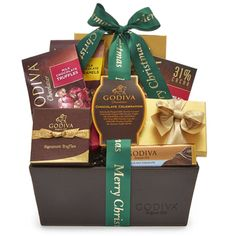 Chocolate Wonderland | Chocolate Gift Basket to USA  Send a little holiday spirit to the office or your loved ones with a chocolate basket that's perfect for sharing.