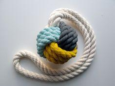 colorful knot by MadebyCassandraSmith #maritime