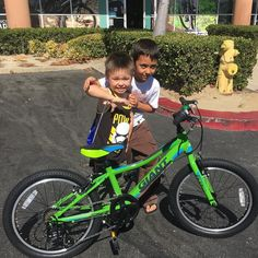 Mason's new 2017 XTC Jr his first bike without training wheels. #temecula #bicycle #fun #fitness #sandiego