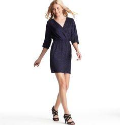 Bold Berry Blue loft dress