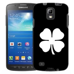 Samsung Galaxy S4 Active Silhouette Firefighter on White Slim Case
