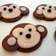 JUNGLE or SAFARI Edible Cupcake Toppers CHOOSE by SWEETandEDIBLE