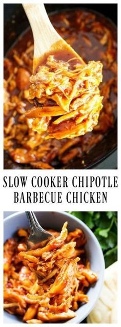 Slow Cooker Chipotle Barbecue Chicken!!! - 22 Recipe