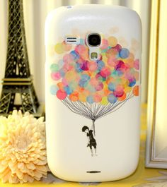 FLYING COLOURFUL BALLOON COVER SAMSUNG GALAXY S3 MINI I8190 MOBILE PHONE CASE | eBay