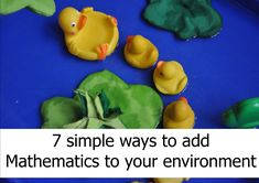 It can be difficult to incorporate mathematics into the learning environment. Here are 6 easy ways to ensure maths is available Fun Math, Maths, Dramatic Play, Learning Environments, Eyfs, Nursery Rhymes, Mathematics, Simple Way, Preschool