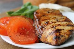 Caprese chicken sandwiches....this is amazing! Except I grill my chicken (italian seasoned) and I just spread the EVOO/Balsamic/Basil mixture onto the hoagie bun. Add grilled chicken, top with melted mozzerella and grilled tomatoes.....delish!