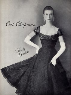 Ciao Bellissima - Vintage Glam; Model wearing Cecil Chapman