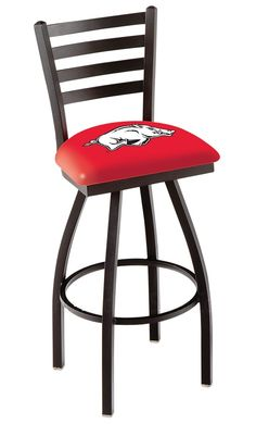 Use this Exclusive coupon code: PINFIVE to receive an additional 5% off the University of Arkansas Bar Stool w/Back - Razorbacks at SportsFansPlus.com