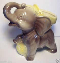 1940-50's Royal Copley Circus w/ Ball Elephant Planter | eBay