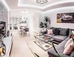 salon z kuchnią - zdjęcie od Doriz Pragmatic Design - Salon - Styl Nowoczesny - Doriz Pragmatic Design
