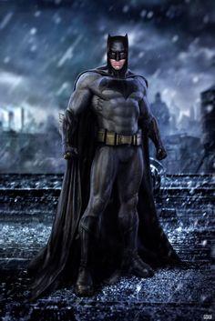 Batman v Superman : Dawn of Justice / Batman by GOXIII on @DeviantArt