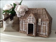 Home basket decor