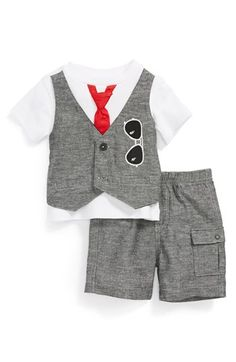 Miniclasix T-Shirt & Cargo Pants (Baby Boys) available at #Nordstrom