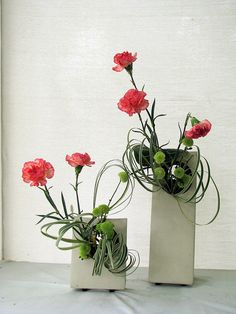 japanese floral arrangements | Ikebana: Japanese flower arrangement | Flickr - Photo Sharing!