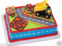 Construction Truck Cake Decorations - Cake Decor