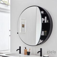 Round Box Mirror by Cielo - Design Precinct
