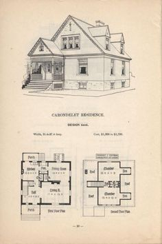 Artistic City Houses By Herbert C. Chivers, Architect: Page 20 (of