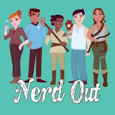 The Nerdy Girlie: Nerd OUT about Nerd Out the App!