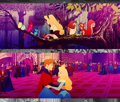 """""""I know you, I've walked with you once upon a dream. I know your the gleam in your eyes is so familiar a gleam."""" Sleeping Beauty"""