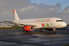 EI-ERH A320-232 VivaAerobus  26th January 2014., Dublin Airport, Ireland.  Arrived the previous day from Montpeller, where it was painted into VivaAerobus livery. Photo by n707pm