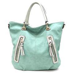 Pree Brulee - Rustic Turquoise Wanderlust Handbag