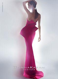 Karlie Kloss for Donna Karan's Resort 2013 ad campaign.