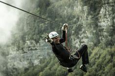 Zip Line Slovenia, the biggest zip line park!