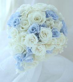 甲府までお届けした、プリザーブドの水色と白のブーケ。一会HPの、新郎新婦様のお写真一覧「アルバム」を、少し補充しました。春夏秋冬にわけてもらったのですがま... Beautiful Bouquet Of Flowers, Blue Wedding Flowers, White Wedding Bouquets, Bride Bouquets, Hand Bouquet, Flower Boxes, Flower Designs, Floral Arrangements, Wedding Planning