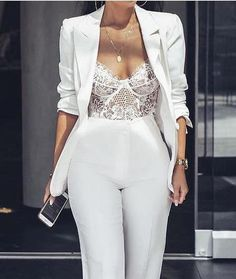 Women's Sexy Lingerie Nightwear Bodysuits – Party Dresses – Mode Outfits Bodysuit Lingerie, Sexy Lingerie, White Lingerie, Bodysuit Fashion, Wedding Lingerie, Lace Wedding, Honeymoon Lingerie, Dress Wedding, Women Lingerie