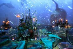 under the sea party - Google Search -Similar concept to how I would like the Cherry blossoms projects to work