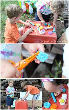 Kids' Art on a Cart: Encourage Creativity Every Day!