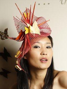 Spring racing fascinating fascinators.