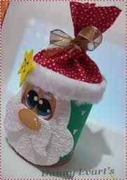 Resultado de imagem para ddecoração de natal com lata de leita ninho