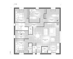 Sweet Home, Floor Plans, How To Plan, Architecture, House, Bungalows, Home Decor, Houses, House Template