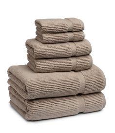 Kassatex Mateo Ribbed Zero-Twist Bath Towels Marble Tan Bath Towel - Bath Towels - Ideas of Bath Towels Grey Hand Towels, Kitchen Hand Towels, Bathroom Towels, Best Bath Towels, Bath Towel Sets, Cricut Heat Transfer Vinyl, Hanging Towels, Luxury Towels, Bath Linens