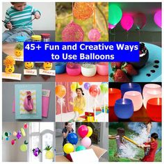 Balloons are wonderful ways to decorate your home and parties because they come in all kinds of colors and patterns. In additions to being used for decoration, balloons can be used in many ways that you might not have expected. Here we have found more than 45 fun and creative ways to use …