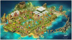 Ilha em tamanho grande. 3778 X 2114 Pixels Última decoração antes da introdução das novas decorações do casamento. 20-01-2014