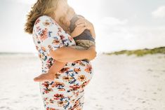 Pandolfo Family Beach Maternity